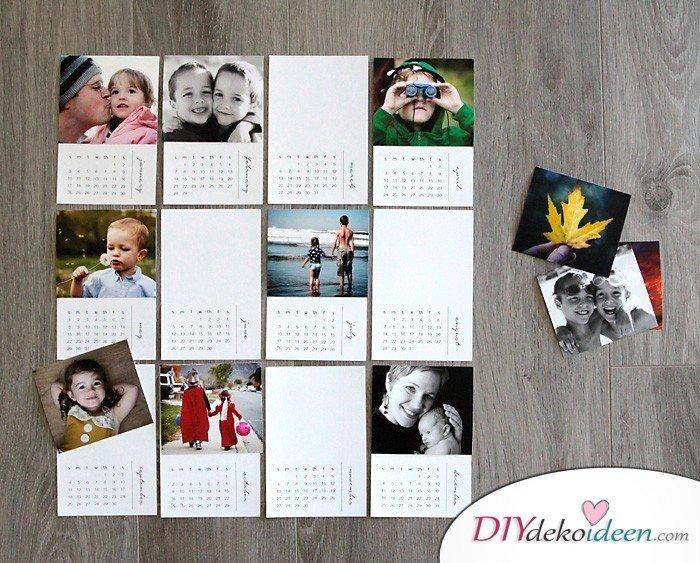 Geschenkideen für Papa – Fotokalender