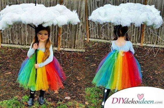 Kinder Faschingskostüm Ideen – Regenbogen