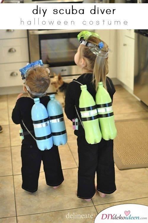 Kinder Faschingskostüm Ideen – Taucher