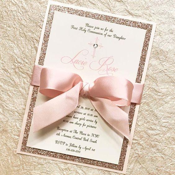 Zauberhafte Schleifchen - Einladungskarten zur Hochzeit selbst gestalten