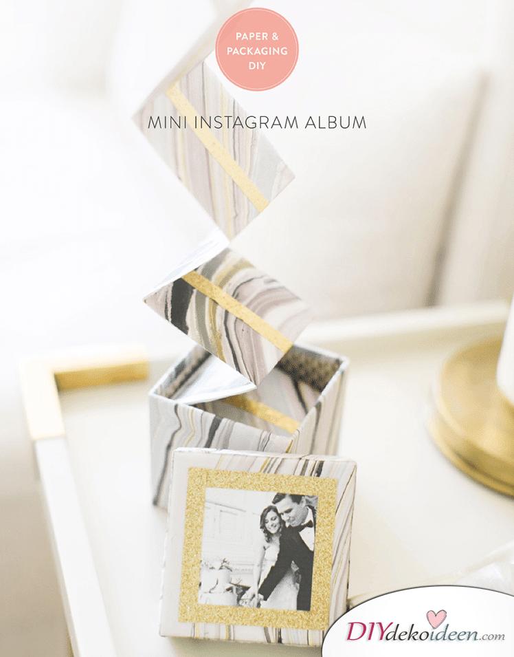 Mini-Instagram-Album - Geschenkideen für Frauen selber machen