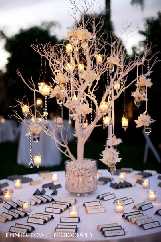 Dekoratives Bäumchen - Hochzeitsdekoration selber machen
