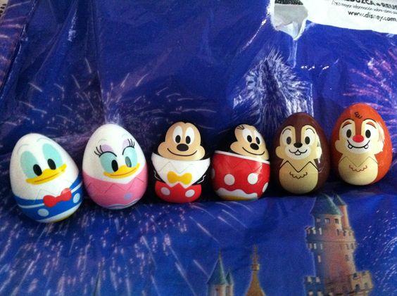 Disney-Figuren-Eier für Ostern