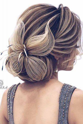 Haarschmetterling - Frisuren für Hochzeit