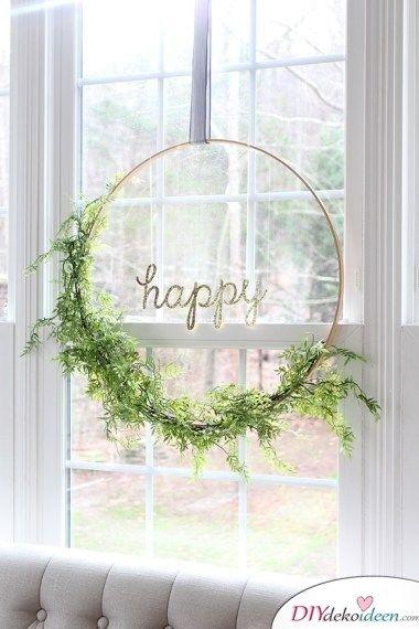 Fensterschmuck - Frühlingsdeko basteln