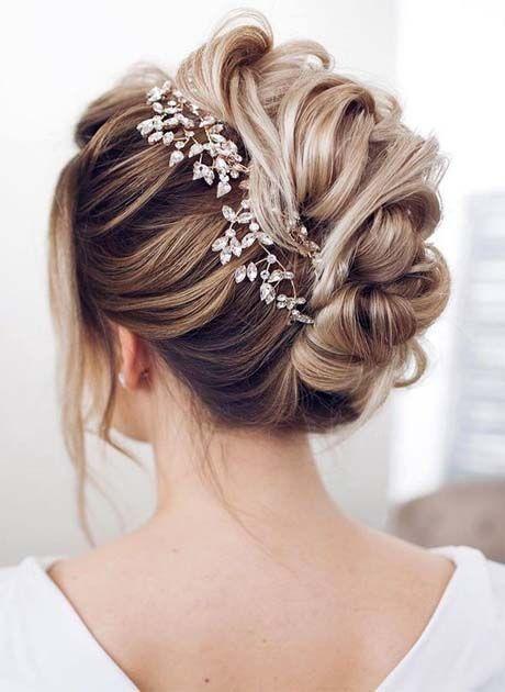 Französischer Zopf für halblanges Haar - Frisuren für Hochzeit