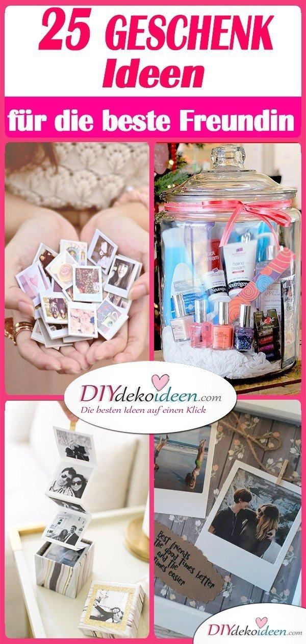 DIY Geschenk für beste Freundin selber machen - die 25 besten Geschenkideen für Frauen selber machen