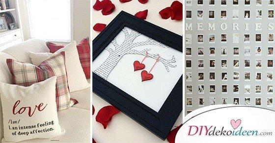 Bastelideen Valentinstag Diydekoideen Diy Ideen Deko