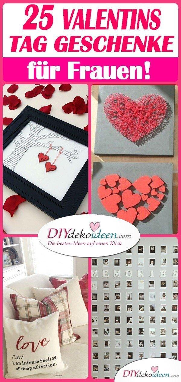 Die 25 schönsten Valentinstagsgeschenke für Frauen zum Selbermachen