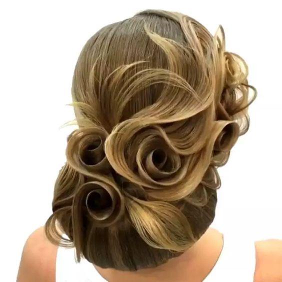 Aufwendiger Dutt - Frisuren für Hochzeit