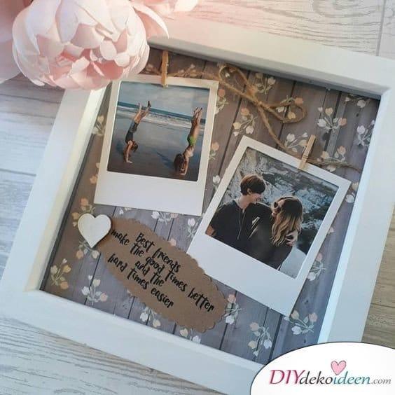 Valentinstag Geschenkideen für Freundin selber machen – Erinnerungsbild