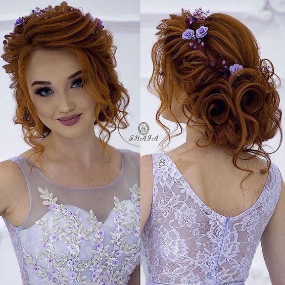 Verspielter Haarknoten - Hochsteckfrisuren Hochzeit