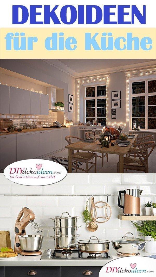 Dekoideen für die Küche: Inspirationen und DIY für den schönsten Raum in der Wohnung!