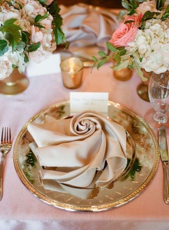 Hochzeitsservietten – so präsentiert ihr Servietten