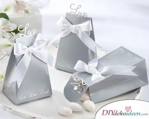 Geschenke zur Silberhochzeit – Gastgeschenke