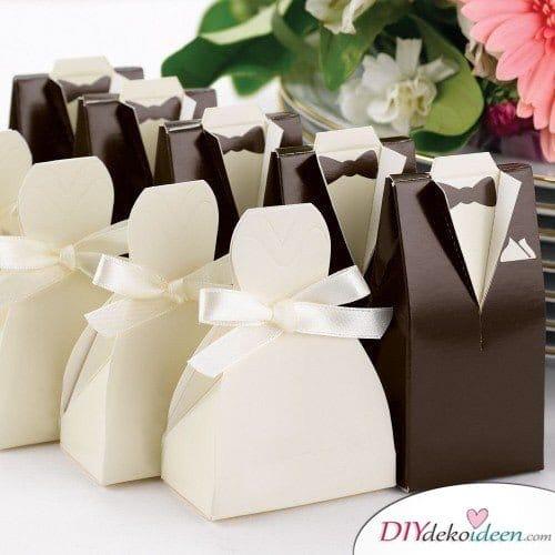 Hochzeitsgeschenke Ideen – Geschenkschachteln