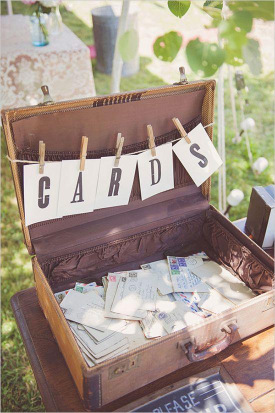 Hochzeitsgästebuch Ideen – Gästebuch aus Postkarten