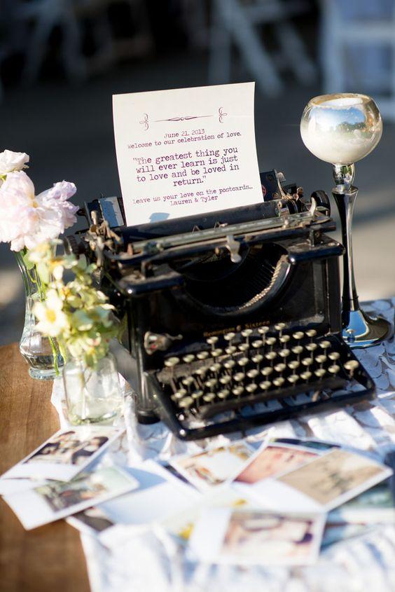 Postkarten – Gästebuch zur Hochzeit
