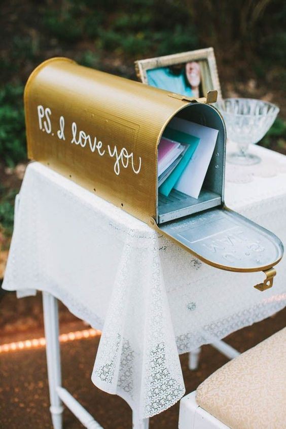 Briefkasten Gästebuch Hochzeit