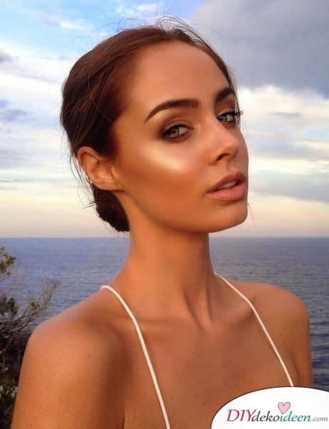 Das perfekte Hochzeits Make up für eine Strandhochzeit