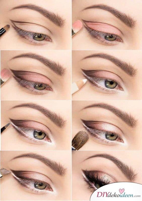 Doppelte Spitze - Braut Make up selber machen