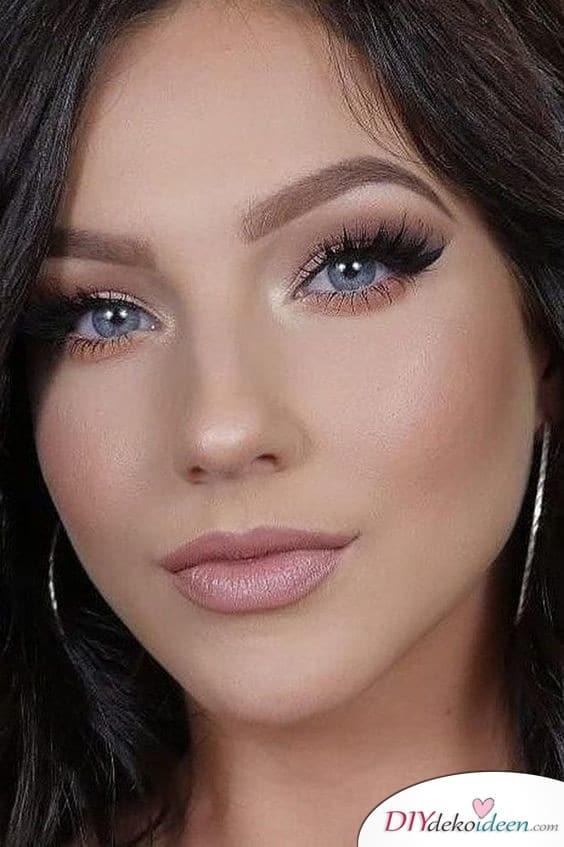 Braut Make up selber machen – schöne Augen