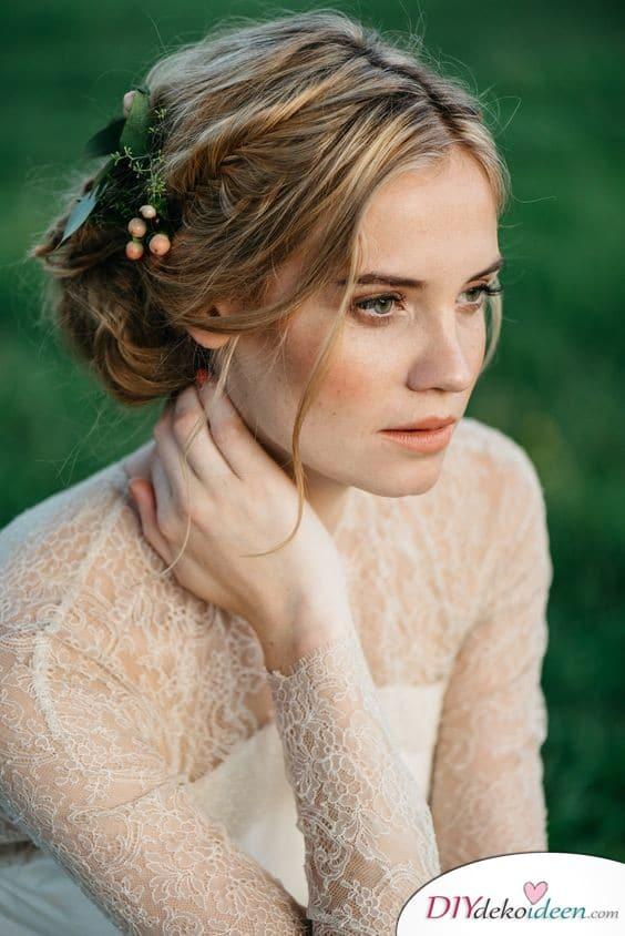 Natürliches Hochzeits Make up