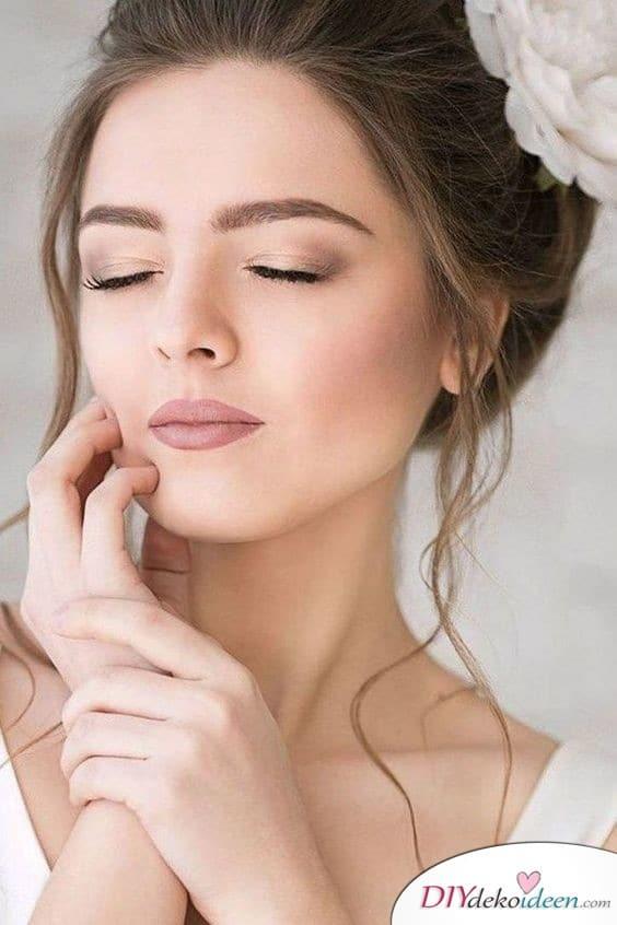 Braut Make up natürlich für alle, die es dezent lieben