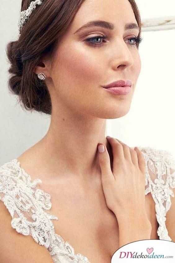 Elegantes Make up für Bräute