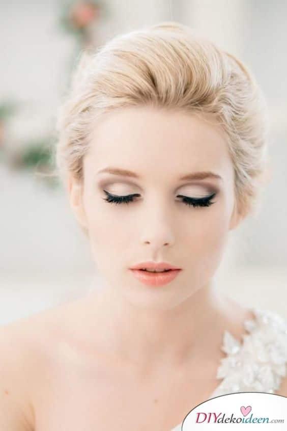 Romantisches Braut Make up