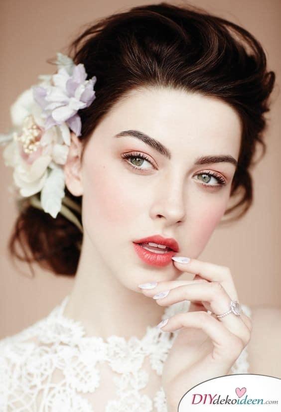 Erfrischendes Make up für Hochzeit