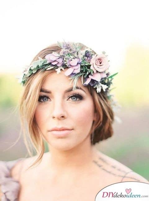 Romantisches Hochzeits Make up