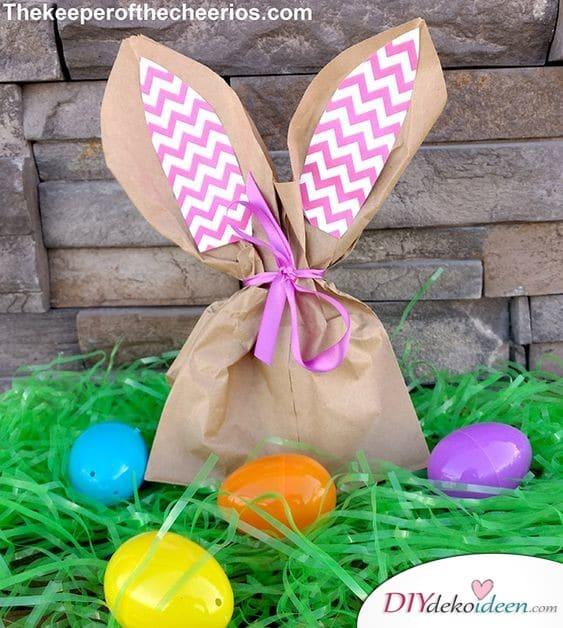 Kleine Ostergeschenke für Erwachsene – Osterhasentüte