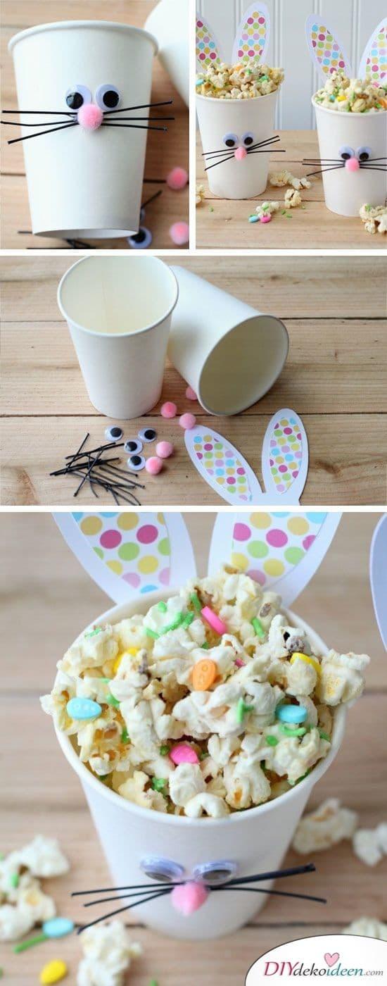Süße Osterhasenbecher - Ostergeschenke für Erwachsene
