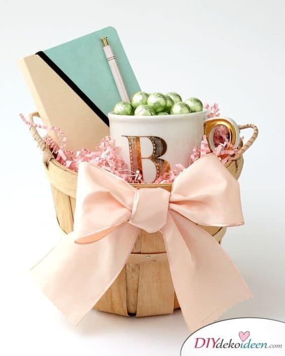 Präsentkorb - Ostergeschenke für Frauen