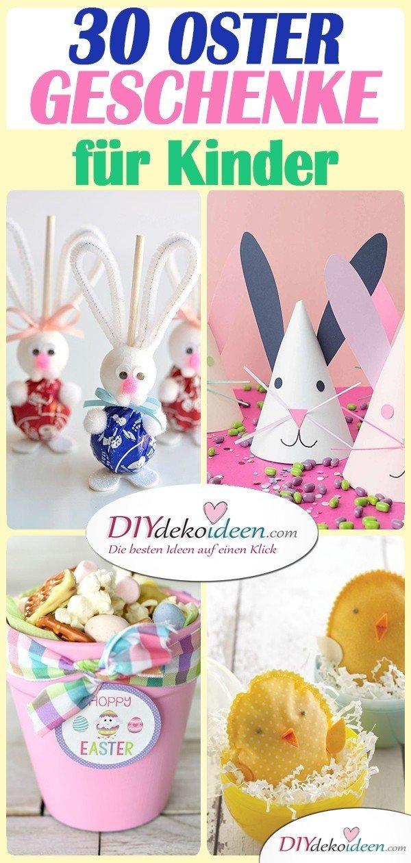 30 Ideen für Ostergeschenke für Kinder - kleine Geschenke zu Ostern