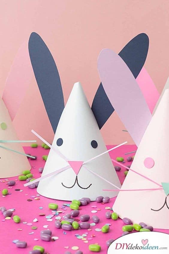 Osterhasentüten - kleine Geschenke für Kinder