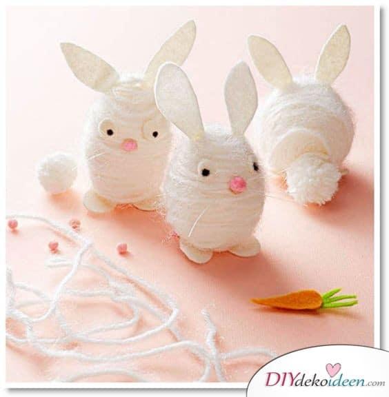 Garnhasen - Ostergeschenke für Kinder