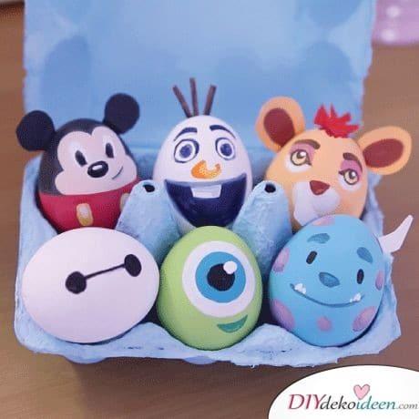Witzige Ostereier- Ostergeschenke für Kinder