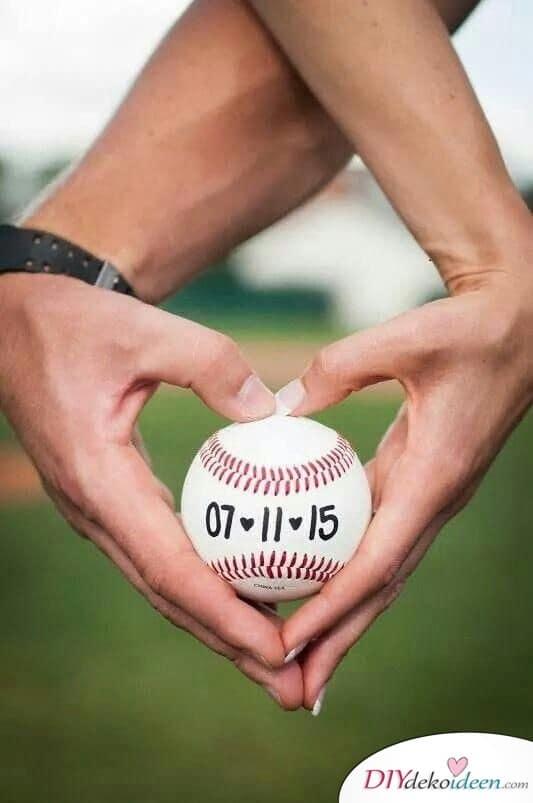 Baseball - Einladungen zur Hochzeit