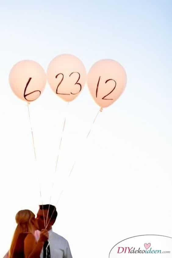 Luftballons - Hochzeit