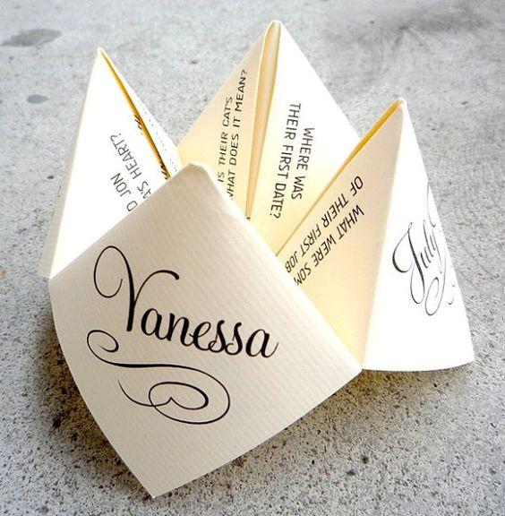 Filigrane Platzkarten zur Hochzeit