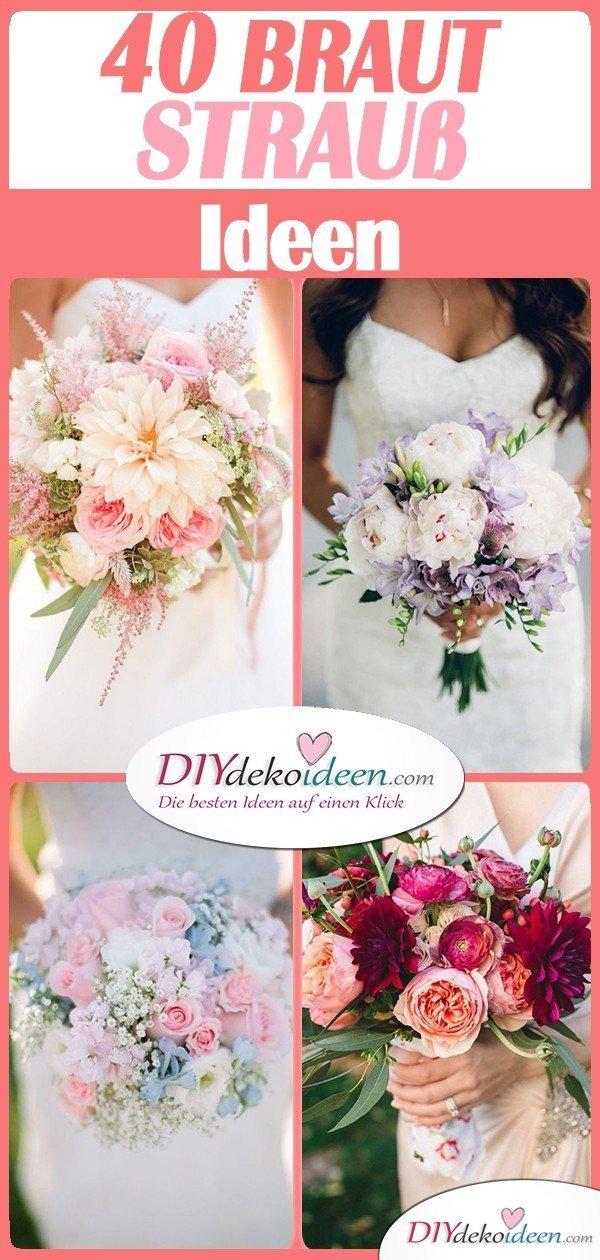 40 unglaublich schöne Brautstrauß Ideen für deinen Hochzeitsstrauß!