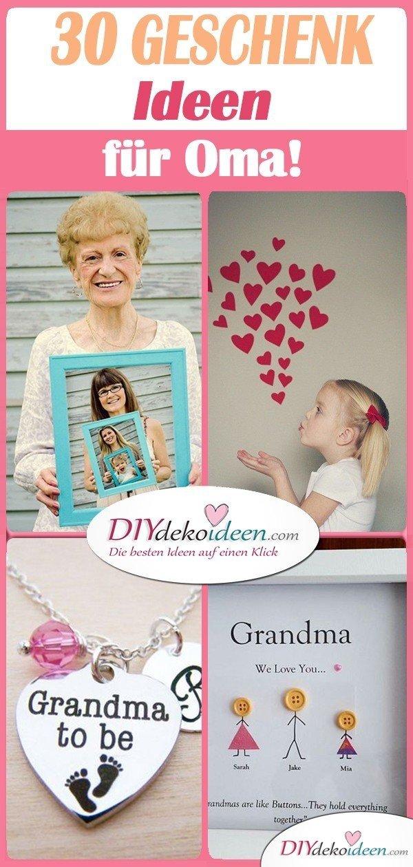 30 super Geschenke für Oma - Geschenkideen für Oma zum Basteln