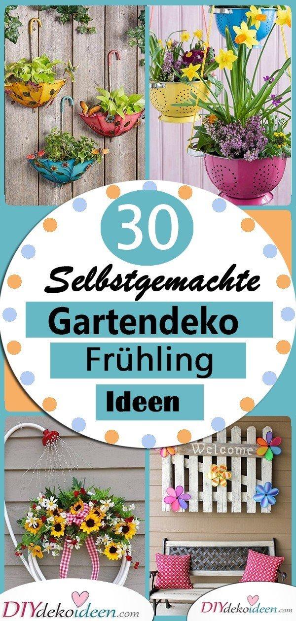 30 Frühlingsgartendeko Ideen zum Nachmachen- Frühlingsdeko im Garten