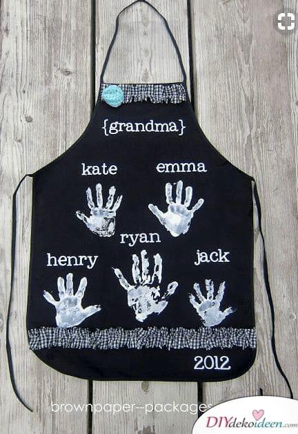 Kochschürze - Geschenke für Großeltern