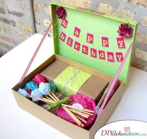 Birthday box - Birthday gift idea