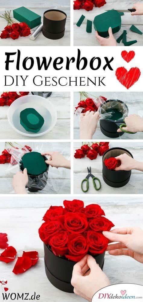 Blumenbox – DIY Gechenk