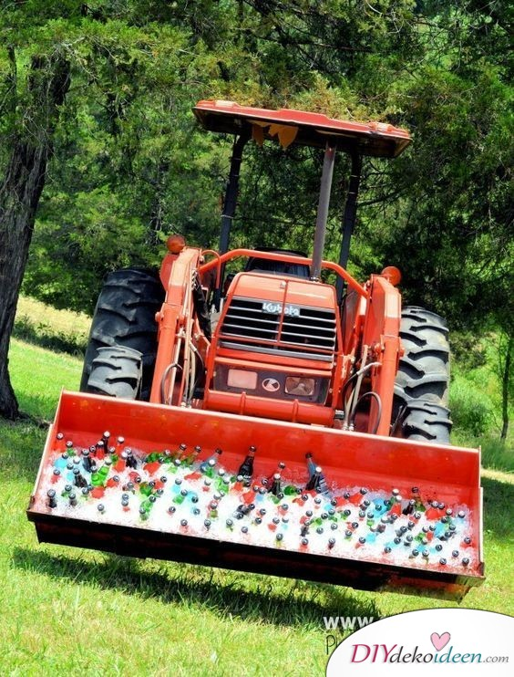 Traktor - Bar - Ideen für den Junggesellenabschied