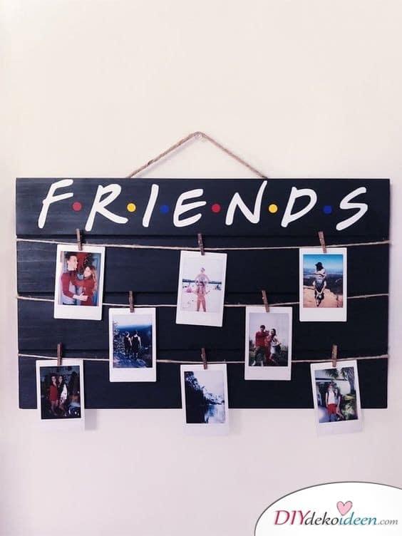 Geschenk für den besten Freund – Freundschaftsfotowand